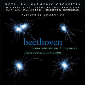 Beethoven: Piano Concerto 4; Triple Concerto / Roll, Kantorow, Wallfisch