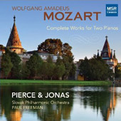 Mozart: Complete Works for Two Pianos / Pierce & Jonas Piano Duo