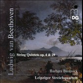 Beethoven: String Quintets Op. 4 & 29 / Leipzig String Quartet