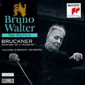 Bruno Walter Edition - Bruckner: Symphony no 4 / Columbia SO