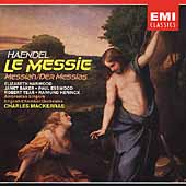 Handel: Messiah / Mackerras, Harwood, Baker, Esswood, et al