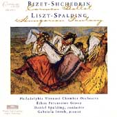 Shchedrin: Carmen Fantasy; Liszt/Spalding: Hungarian Fantasy