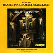 Pinkham: Epiphanies;  Liszt: Fantasy and Fugue / Lippincott