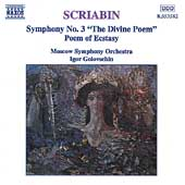 Scriabin: Symphony no 3, etc / Golovschin, Moscow Symphony
