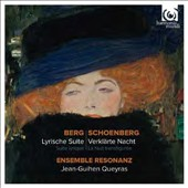 Berg: Lyric Suite; Schoenberg: Transfigured Night / Ens. Resonanz, Queyras