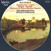 Balakirev: Symphonies no 1 & 2, etc /Svetlanov, Philharmonia