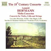18th Century Concerto - Hofmann: Violin Concertos / McAslan