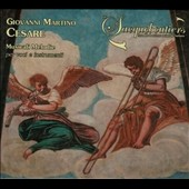 Cesare Giovanni Martino (1590-1667): Musical Mélodie for voices and instruments / Les Sacqueboutiers De Toulouse