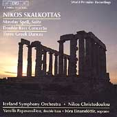 Skalkottas: Mayday Spell, Bass Concerto, etc / Christodoulou