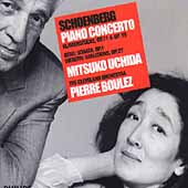Schoenberg: Piano Concerto, etc;  Berg, Webern / Uchida