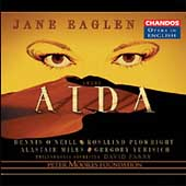 Opera in English - Verdi: Aida / Parry, Eaglen, Miles, et al