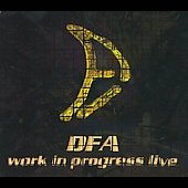 D.F.A. (Italy): Work in Progress Live [Digipak]