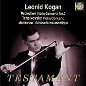 Prokofiev, Tchaikovsky: Violin Concertos, etc / Leonid Kogan