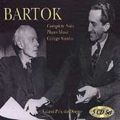Bart&#243;k: Complete Solo Piano Music / Gy&#246;rgy S&#225;ndor