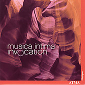 Invocation - Chatman, Pärt, Sisask / Musica Intima