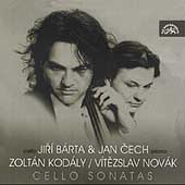 Kodály, Novak: Cello Sonatas / Jiri Barta, Jan Cech