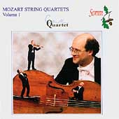 Mozart: String Quartets Vol 1 / Coull String Quartet