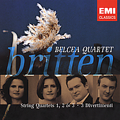 Britten: String Quartets, etc / Belcea Quartet