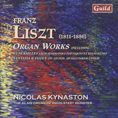 Liszt: Organ Works / Nicolas Kynaston