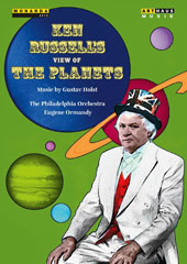 Ken Russell's view of The Planets - Music by Gustav Holst illustrated with passages from a mass of documentary material / Philadelphia Orch., Ormandy [DVD]