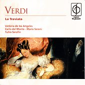 Verdi: La traviata / Serafin, de los Angeles, et al