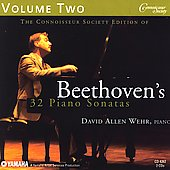 Beethoven's 32 Piano Sonatas Vol 2 / David Allen Wehr
