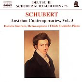 Deutsche Schubert-Lied-Edition - Austrian Contemporaries 3