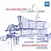 William Bolcom: Violin Sonatas 2 - 4 / Knific, Sims