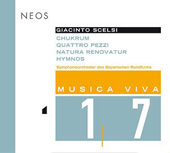 Scelsi: Musica Viva Vol 17 - Chukrum, etc / Zender, Zawadke, et al