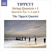 Tippett: Complete String Quartets Vol 1 / Tippett String Quartet