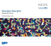 Aperghis: Works for Piano / Nicolas Hodges