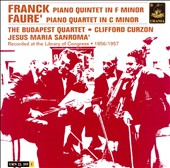Franck: Piano Quartet in F minor; Fauré: Piano Quartet in C minor