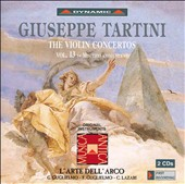 Tartini: The Violin Concertos, Vol. 13