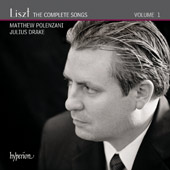 Liszt: The Complete Songs Vol. 1