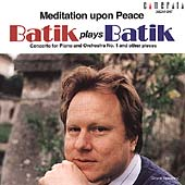 Batik plays Batik - Meditation Upon Peace