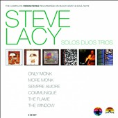 Steve Lacy: The Complete Remastered Recordings on Black Saint & Soul Note: Solos Duos Trios [Digipak]