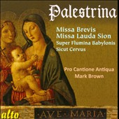 Palestrina: Missa Brevis; Missa Lauda Sion; Sicut Cervus et al. / Pro Cantione Antiqua