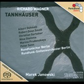 Wagner: Tannh&#228;user / Albert Dohmen, Robert Dean Smith, Christian Gerhaher, Nina Stemme. Janowski