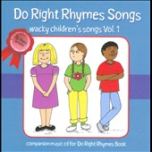Various Artists: Do Right Rhymes Songs: Wacky Children's Songs, Vol. 1