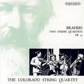 Brahms: Two String Quartets, Op. 51