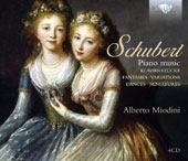 Schubert: Piano Music - Fantasies; Variations; Dances; Miniatures; Klavierstucke / Alberto Miodini, piano
