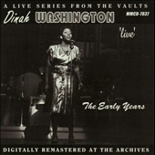 Dinah Washington: Live the Early Years