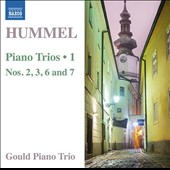 Hummel: Piano Trios, Vol. 1 - Nos. 2, 3, 6 and 7 / Gould Piano Trio