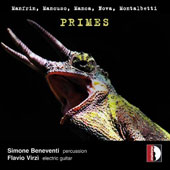 'Primes' - Contemporary works for electric guitar & percussion / Flavio Virzì, e. guitar; Simone Beneventi, percussion