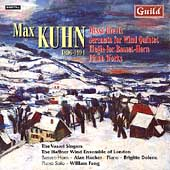 Kuhn: Missa brevis, Serenata, etc / Vasari Singers, et al