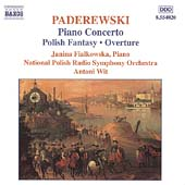 Paderewski: Piano Concerto, Polish Fantasy, etc / Wit, et al