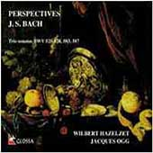 Perspectives - Bach: Trio Sonatas / Hazelzet, Ogg