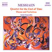 Messiaen: Quartet for the End of Time, etc / Amici Ensemble