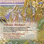 Medtner: 2 Pieces for 2 Pianos, etc / Berezovsky, Milne