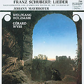 Schubert: Lieder Vol 2 / Wolfgang Holzmair, G&egrave;rard Wyss